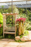 Tiny corner garden flower and plant designs Royalty Free Stock Photos