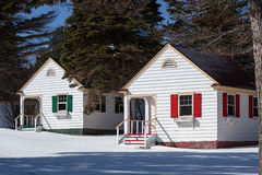 Tiny Cottages Stock Photos