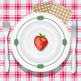 Tiny dinner Royalty Free Stock Images
