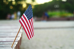Tiny flag Stock Photos