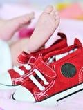 Tiny foot Stock Photo