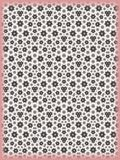 Flower Patterned Texture. Tiny Fractal Flower Patterned Background Texture royalty free illustration