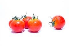 Tiny Fresh Tomato Stock Photo