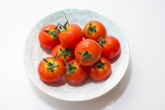 Tiny Fresh Tomato Stock Images