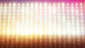 Tiny glimmers in colorful tone. Tiny light bulbs in colorful tone Royalty Free Stock Photography