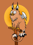Tiny griffin Royalty Free Stock Photography
