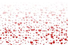 Tiny hearts background Royalty Free Stock Images
