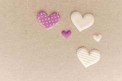 Tiny hearts Stock Photo
