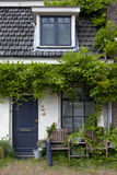 Tiny house with green plants Royalty Free Stock Photography