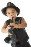 Tiny, Intense, Wanna'be Rock Star Royalty Free Stock Photos