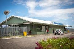Kieta Airport on Bougainville, PNG stock image