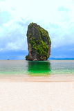 A tiny limestone isles at Po-da island Stock Photography