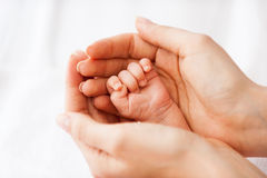 Tiny little hand. Royalty Free Stock Image
