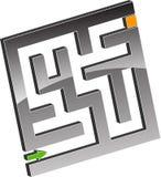Tiny maze Royalty Free Stock Image