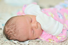 Tiny newborn Stock Photos