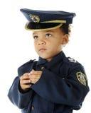 Tiny Officer's Portrait Stock Photography