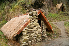 Tiny old home stock image