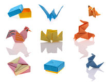 Tiny origami Stock Photos