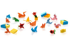 Tiny origami Royalty Free Stock Images