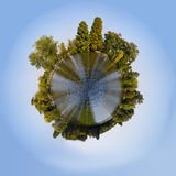 Tiny planet Royalty Free Stock Photos