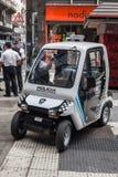 Tiny Police Car Buenos Aires Argentina Royalty Free Stock Photos