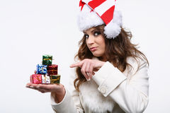 Tiny presents. Stock Images