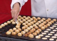 Tiny Puff-pancake Stock Photography