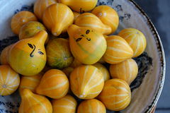 Tiny pumpkin stock photos