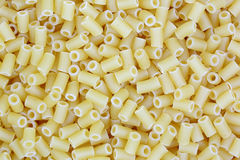 Tiny Quarter Inch Macaroni Top View Stock Photo