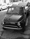 Tiny retro Italian automobile Royalty Free Stock Photography