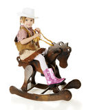 Tiny Rider Royalty Free Stock Images