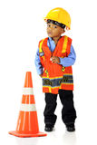 Tiny Road Crewman Royalty Free Stock Image