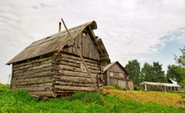 Tiny rustic house Royalty Free Stock Photos