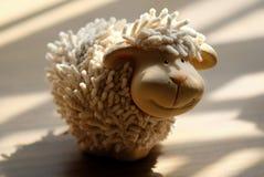 A tiny souvenir of sheep as decoration Stock Photos