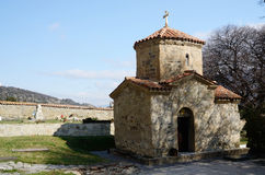 Tiny St. Nino Church at Samtavro Monastery in Mtskheta,Georgia Stock Images