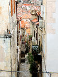 Tiny Streets Stock Images