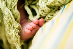 Tiny toes Stock Photo