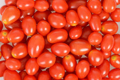 Tiny tomatoes closeup Stock Image