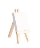 Tiny toy easel isolated Royalty Free Stock Photo