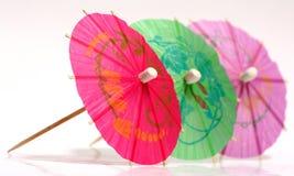Tiny Umbrellas Royalty Free Stock Photography