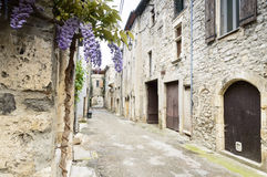 Tiny village in Southern France Royalty Free Stock Photos