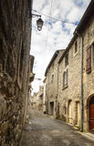 Tiny village in Southern France Stock Photos