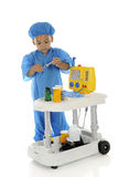 Tiny Working ER Doc Stock Photography