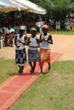 TIO ÅR AV EN AFRIKANSK PRÄSTPRÄSTERSKAP Fotografering för Bildbyråer