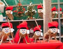 Tio Caga на рождественской ярмарке Стоковое Изображение RF
