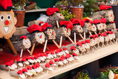 Tio de Nadal sale. Tio de Nadal is character in Catalan mythology relating to Christmas tradition widespread in Catalonia Stock Photo