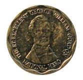 Tio dollar mynt Bank av Jamaica Arkivfoto