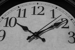 Tio minuter förbi `-klockan för nolla tio Royaltyfria Foton