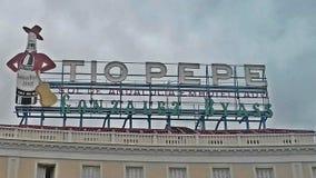 Tio Pepe, Madrid royalty free stock photo