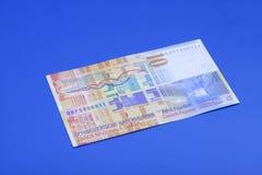 Tio schweizisk franc anmärkning Fotografering för Bildbyråer